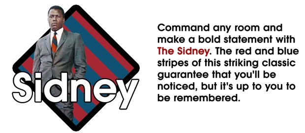 The Sidney (Repp Stripe)