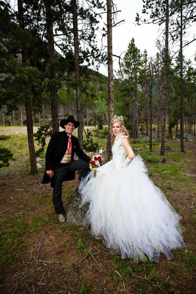 Gunfighter and Princess Wedding Ceremony