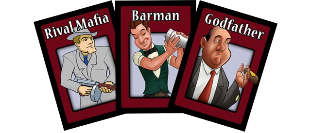 Mafia The Party Game Card Set By Matt Dambra Kickstarter
