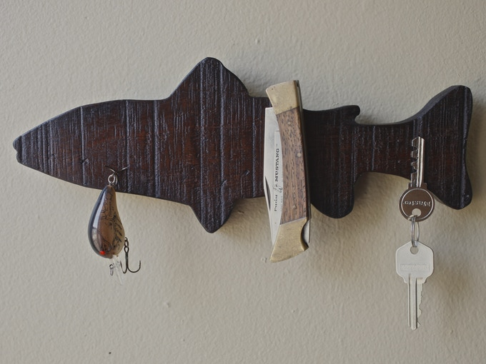 For all the avid fly-fisherman, or those aspiring to be.. TROUTSKEY: $35