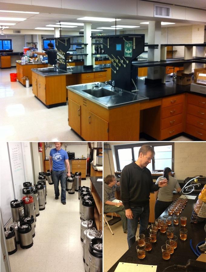 Hundreds of test batches through Picobrew's lab