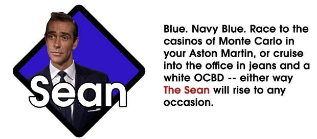 The Sean (Navy Blue)
