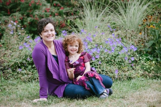 Chelsea Harper and daughter, 2012