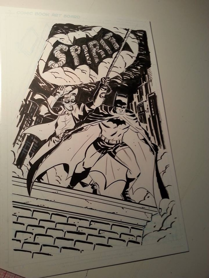 The third story is called ECHO FROM BEYOND TIME and will feature JOHN BROGLIA (God Complex) on art duties. A group of bank robbers accidently awaken an ancient subterranean evil, and it's up to Doc Unknown to save the day!
