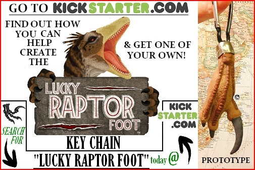 Advertisement appearing in the October edition of Prehistoric Times Magazine!