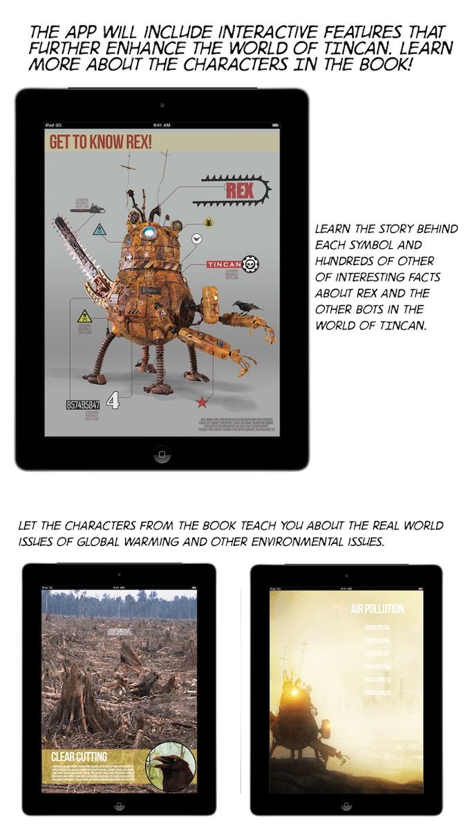 mock ups of the digital version