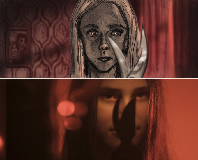 Mood shot VS Teaser shot - Episode FINAL GIRL by Jörg Buttgereit