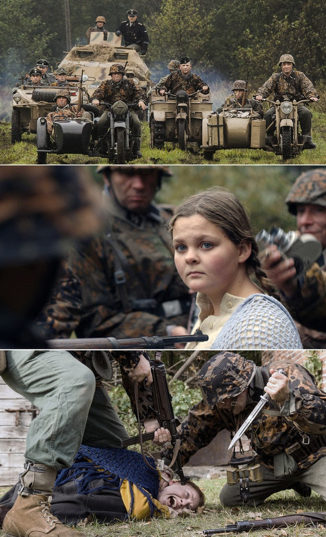 "Scene ""Flashback 1943"" from episode MAKE A WISH"