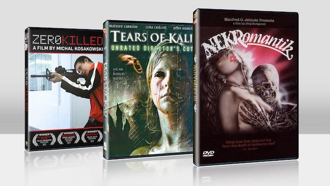 $50 each - DVD's signed by the directors - ZERO KILLED, TEARS OF KALI & NEKROMANTIK