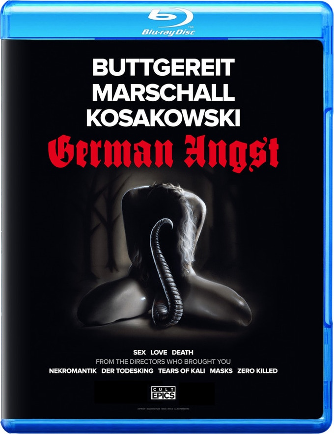 """$100 - The first to pledge gets the lowest number of BLU RAY or DVD """"GERMAN ANGST"""" limited numbered edition of 500, signed by Jörg Buttgereit, Andreas Marschall and Michal Kosakowski + MORE!"""