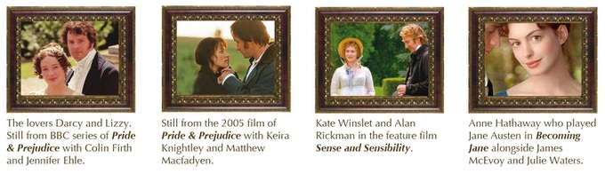 Such is Jane Austen's impact that her life and works have been widely adapted for film and television