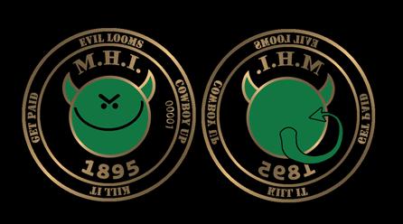 MHI Smiley Face Coin