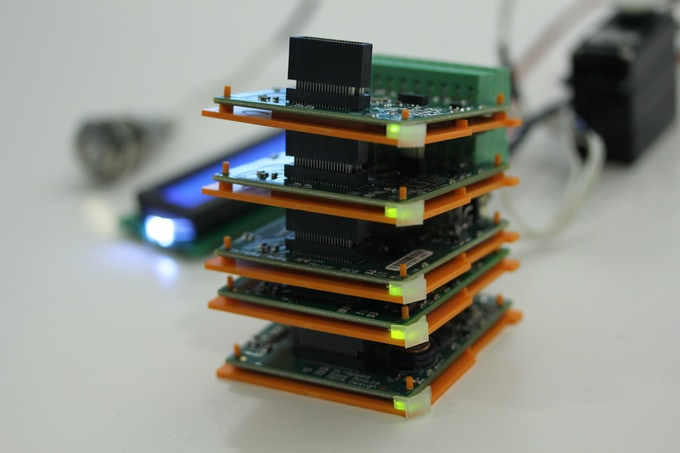 Stacked Modules