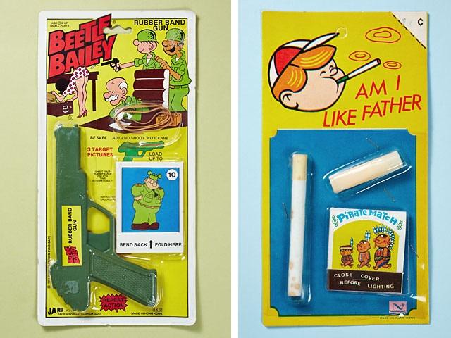 Beetle Bailey Rubber Band Gun - Am I Like Farher