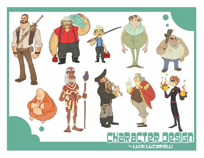 Character Design Questions : Masters of anatomy by —kickstarter