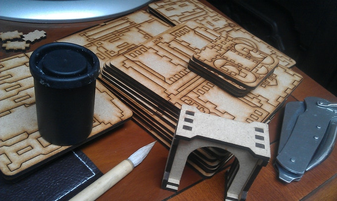 Infinite Crypt comes as flatpack kits - they're easy & quick to assemble.