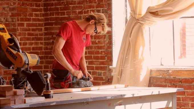 Joel Elliott, Planing Barnwood for Furniture