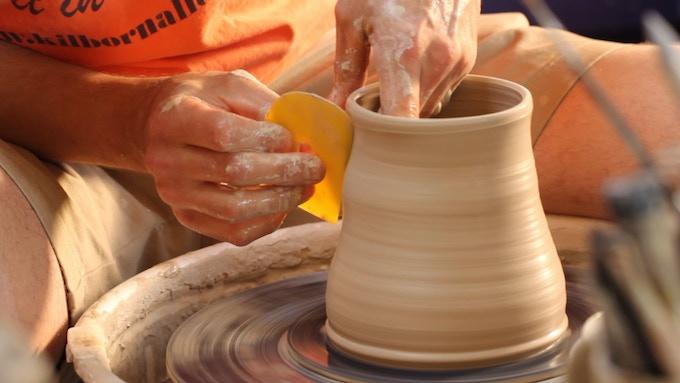 Chad Nelson, Mississippi Mud Pottery (Maeva's Mug Design)