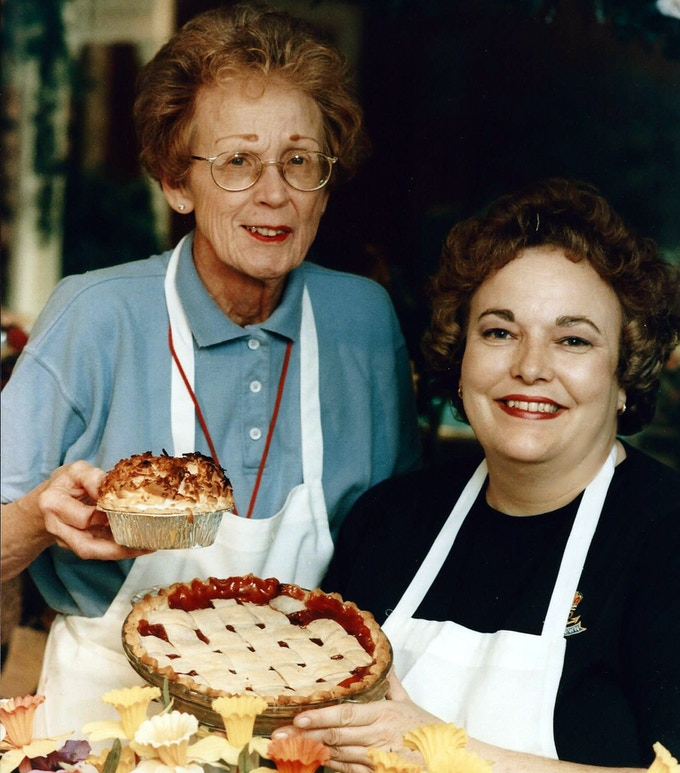 Peg and Jeanne, 1997