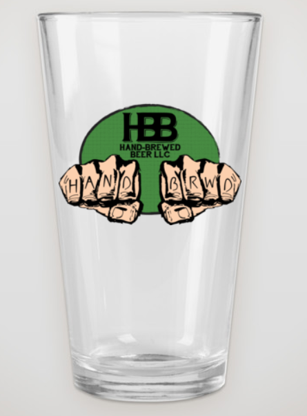 HBB Pint Glass
