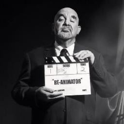 Stuart Gordon as Hitchcock