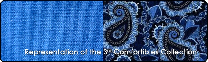 Representation of the 3rd Comfortibles Collection