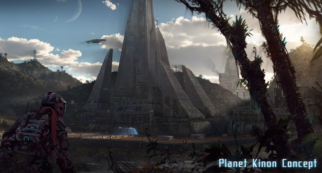 Planet Kinon - A lush planet abundant with jungles, and natural resources.