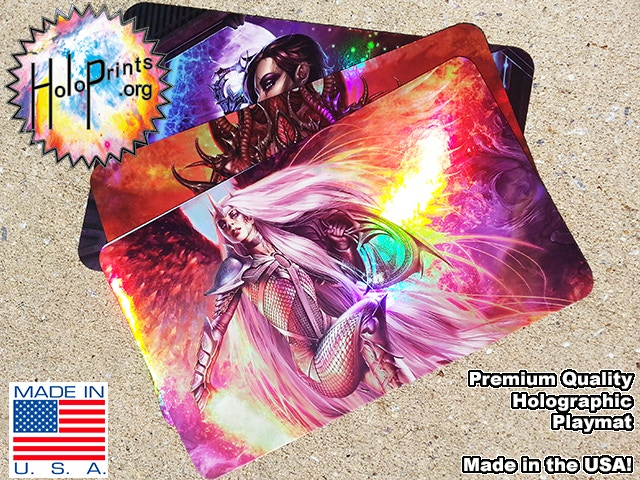 Holographic Playmats