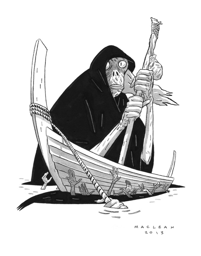 HEAD LOPPER 2: The Wolves of Barra by Andrew MacLean