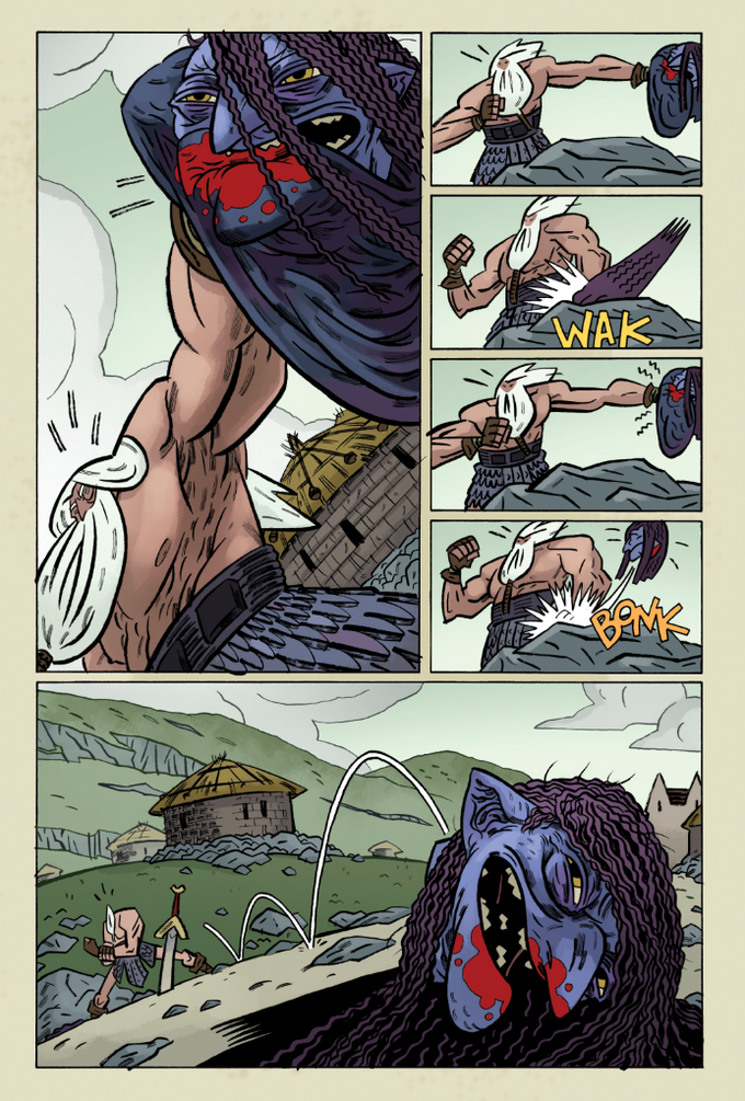Sample from ISSUE ONE