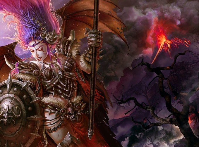 Syncmax EDH Commander inspired art