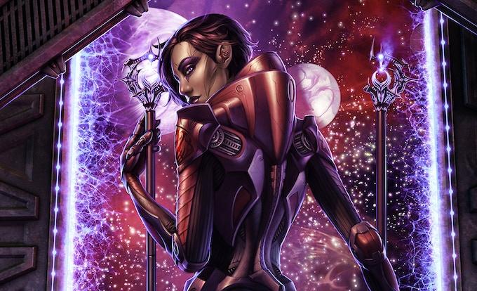 Jet-Black Guild Queen