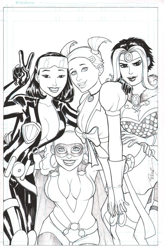 "Original Inked Cover Art (11""x17"")"