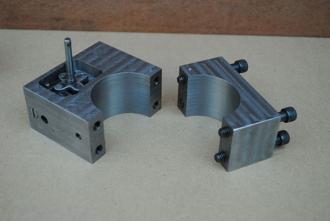 We produced various aluminium prototypes of the bracket design to see how compatible they are.