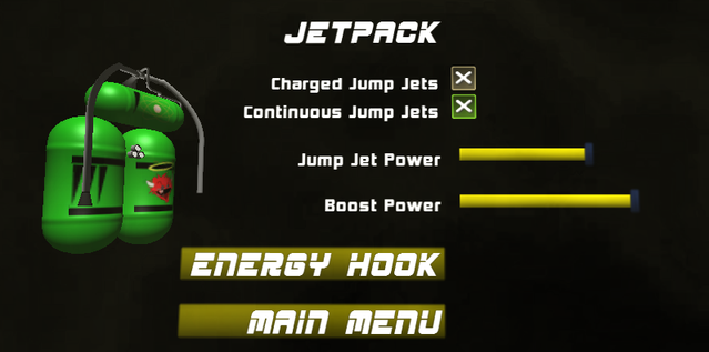 Jetpack Customization Screen