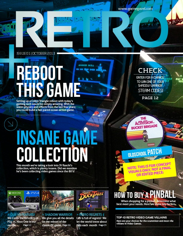 RETRO: A New RETRO Gaming Magazine by Mike Kennedy — Kickstarter