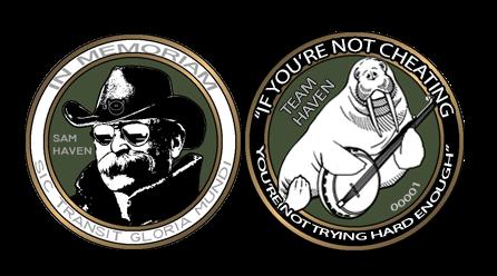 Team Haven/Sam Haven Commemorative Coin