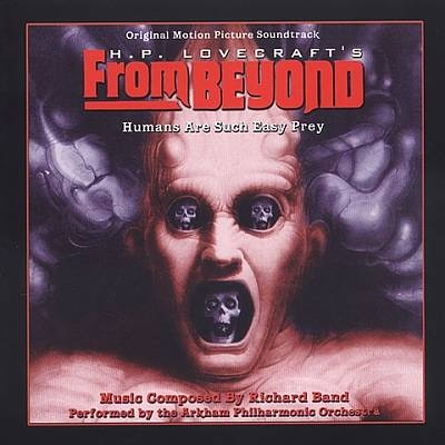 A signed copy of the From Beyond soundtrack