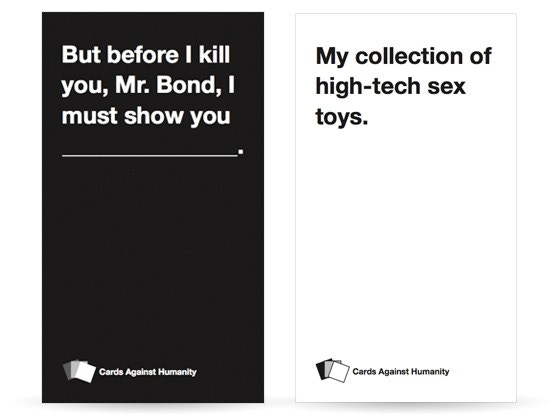 Cards Against Humanity By Max Temkin Kickstarter