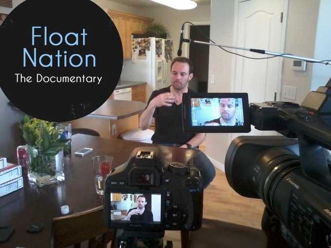 Float Nation - behind the scenes with Shane