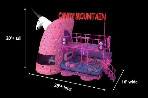 Charlie The Unicorn Art Car By Camp Charlie Kickstarter