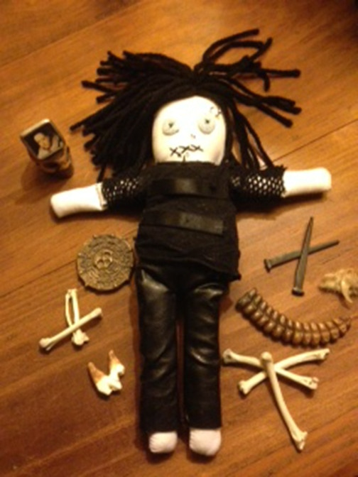 The Dani Filth voodoo doll