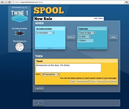 Twine : Listen to your world, talk to the Internet by