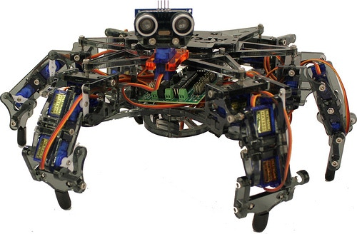 Hexy the Hexapod - Low-Cost Six-Legged Open Robot by
