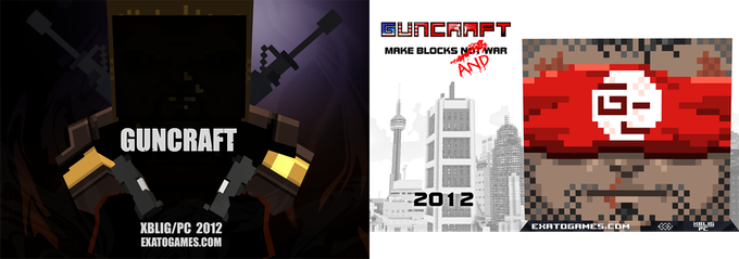 Guncraft: Voxel-based First Person Shooter by John Getty