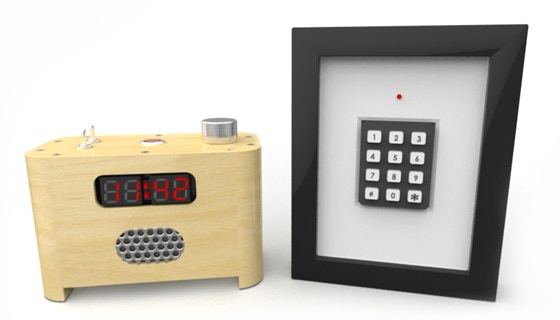 ramos alarm clock by paul sammut kickstarter. Black Bedroom Furniture Sets. Home Design Ideas