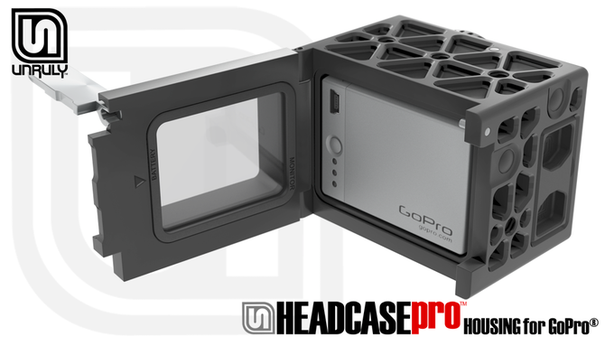 Unruly Headcase Headgear Housings For Gopro By Clark