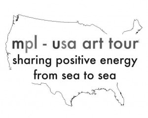 mpl usa art tour sharing positive energy from sea to sea by joanne morton kickstarter. Black Bedroom Furniture Sets. Home Design Ideas