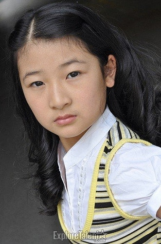 Mimi a 10 years old girl starred by stephanie shen for Mimi lee chinese