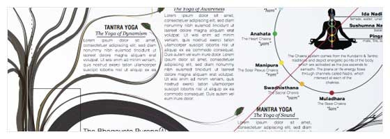 the yoga poster by karoline and frank neville-hamilton